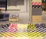 DIENKE DEKKER Interieur @Design Academy Eindhoven | Union of striped yarns