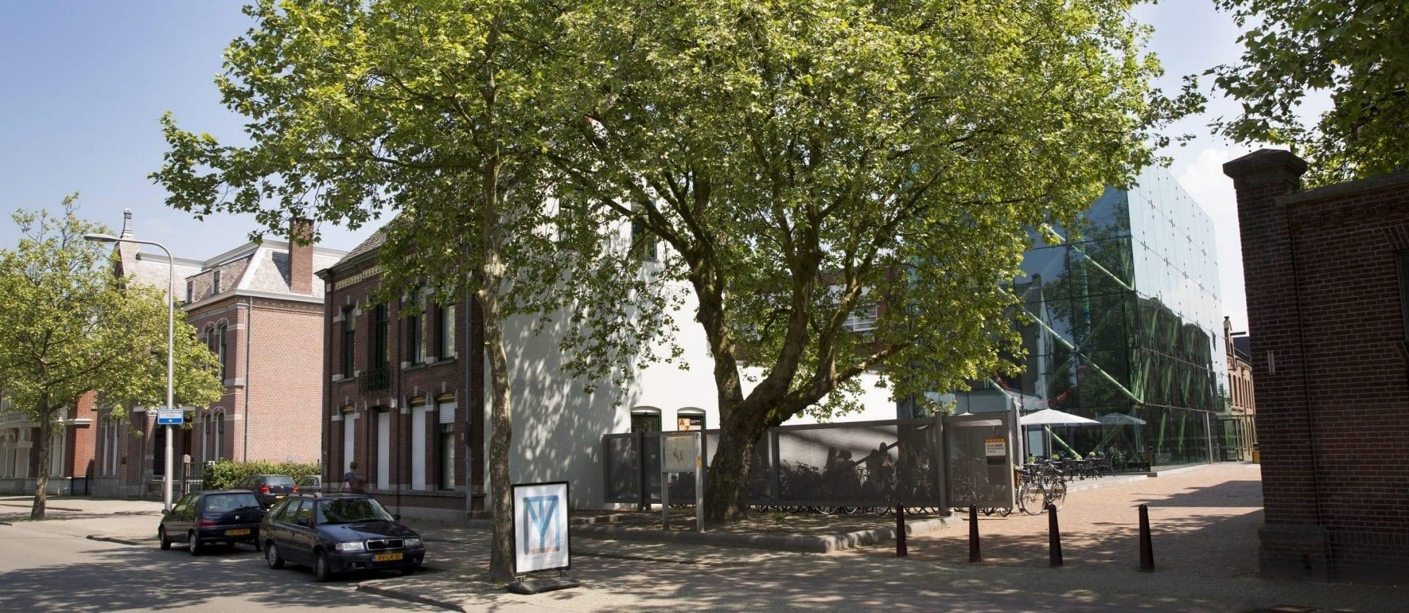 Museumaanzicht vanaf de Goirkestraat