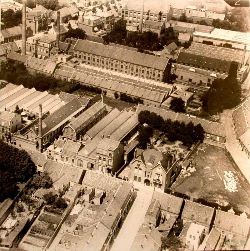 Bovenaanzicht, 1924. Collectie TextielMuseum