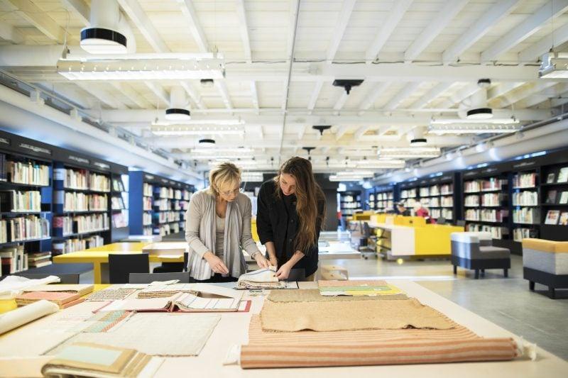 Bibliotheek. Foto: Tommy de Lange